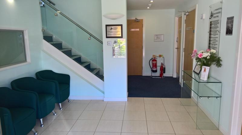 The waiting area at Ear Clinic Lymington