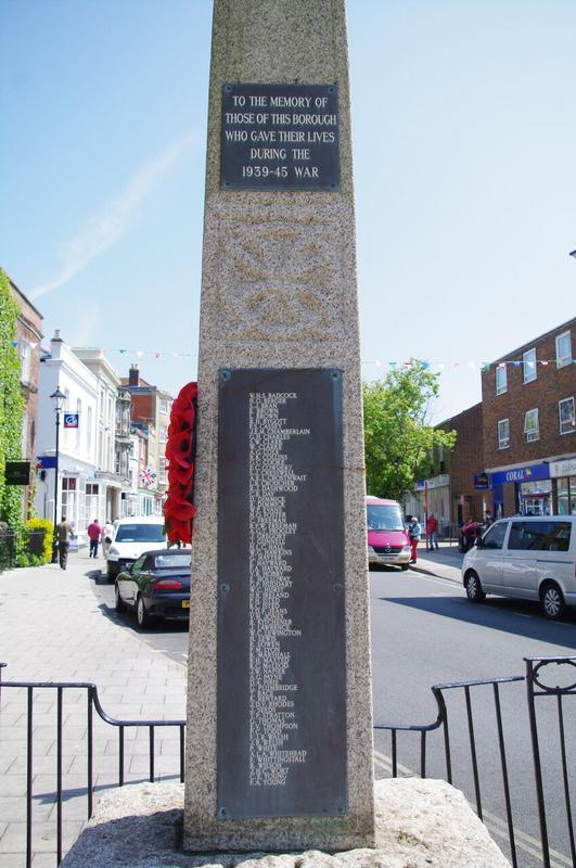 Lymington WW2 memorial