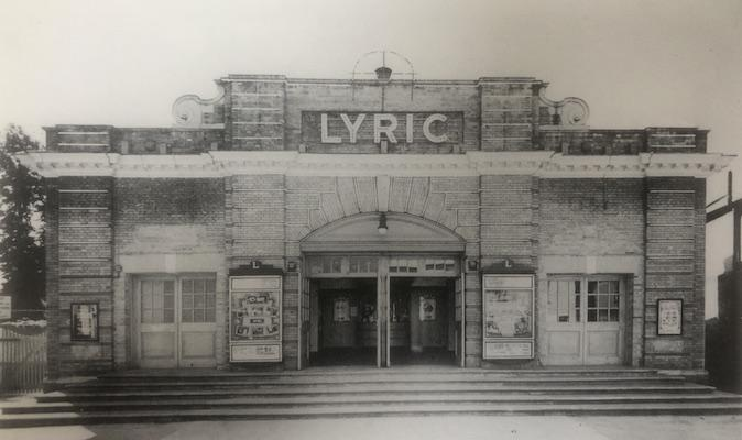 Lymington's Lyric Cinema in 1963