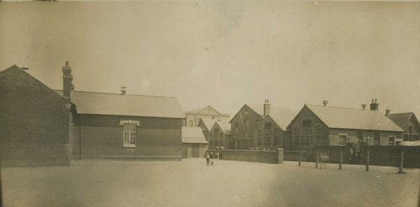 St Barbe School building Lymington