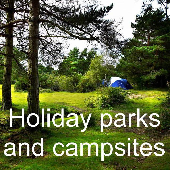 Holiday parks and campsites in Lymington and the New Forest