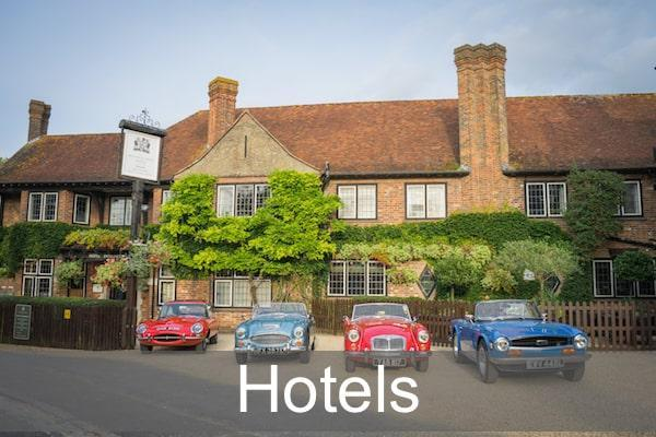 Hotels in the New Forest and Lymington area