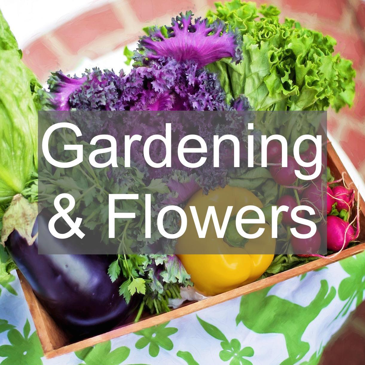 gardening and flower clubs