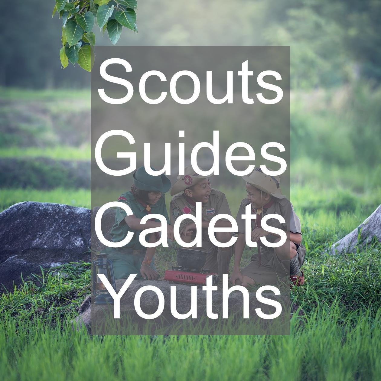 scouts guides cadets and youth groups