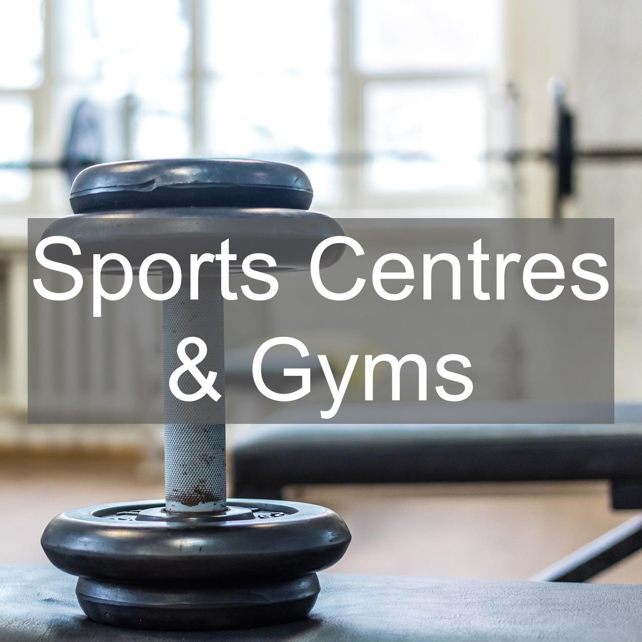 sports centre gyms