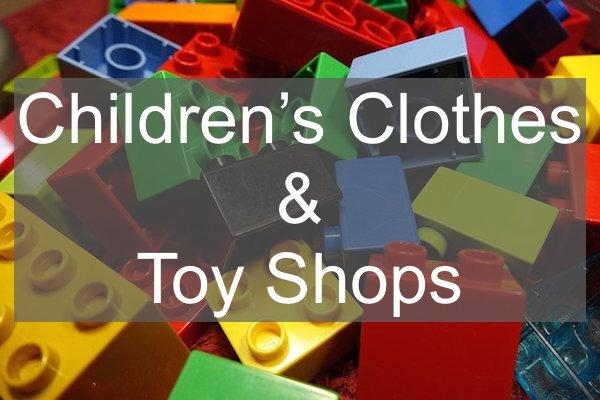 toy shops and children's clothing in Lymington and the New Forest