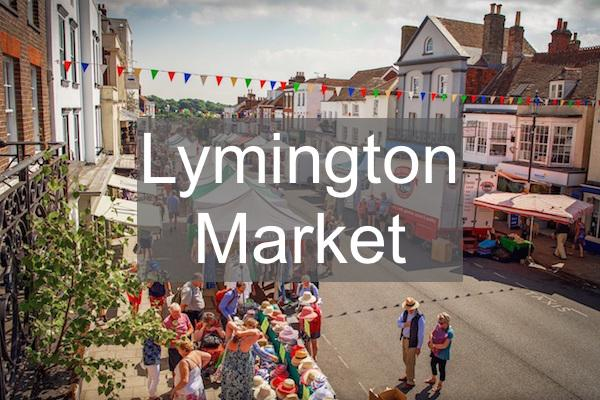 Lymington Charter Market traders every Saturday