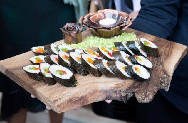 7th wave events catering lymington delicious party food