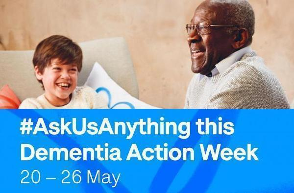 Ask us anything-  Dementia Action Week 2019