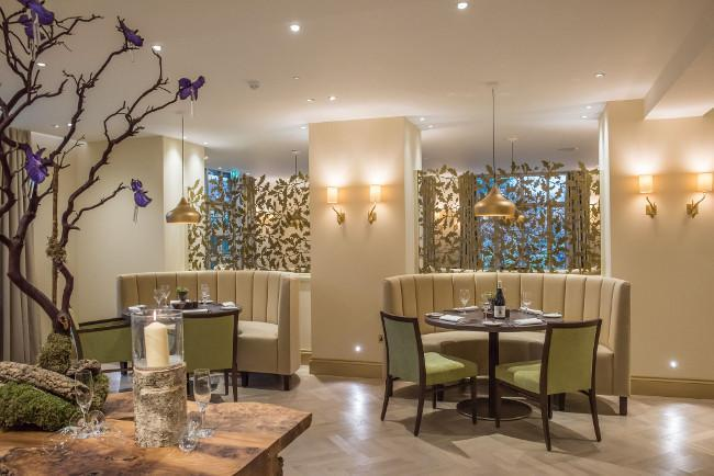 Cambium restaurant at Careys Manor New Forest