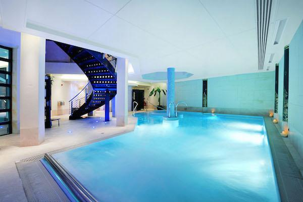 Hydrotherapy suite at Careys Manor SenSpa