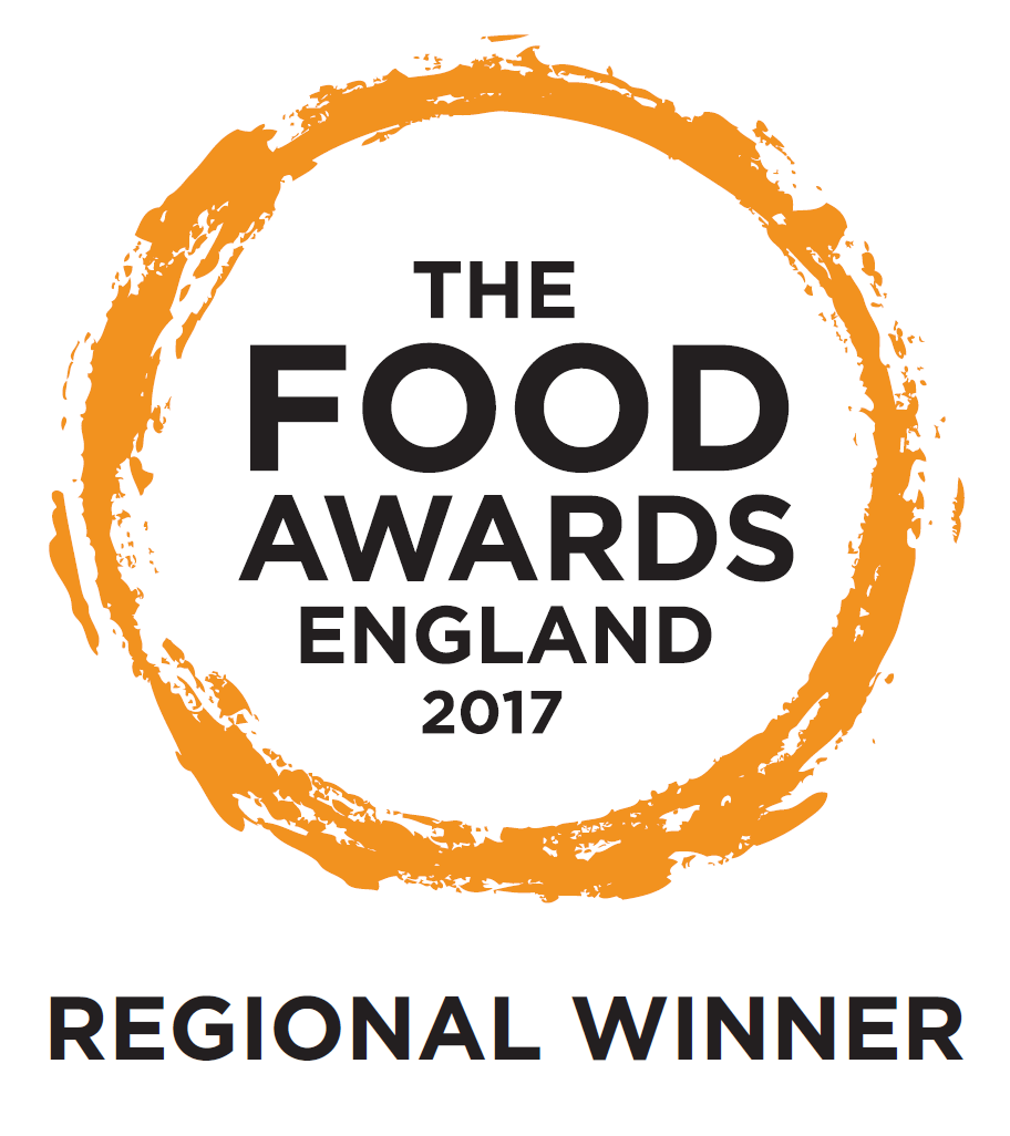 The Food Awards England 2017 regional winner