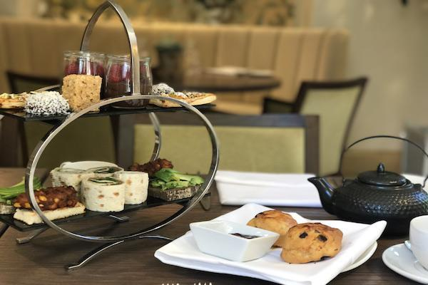 Vegan Afternoon Tea at Careys Manor New Forest