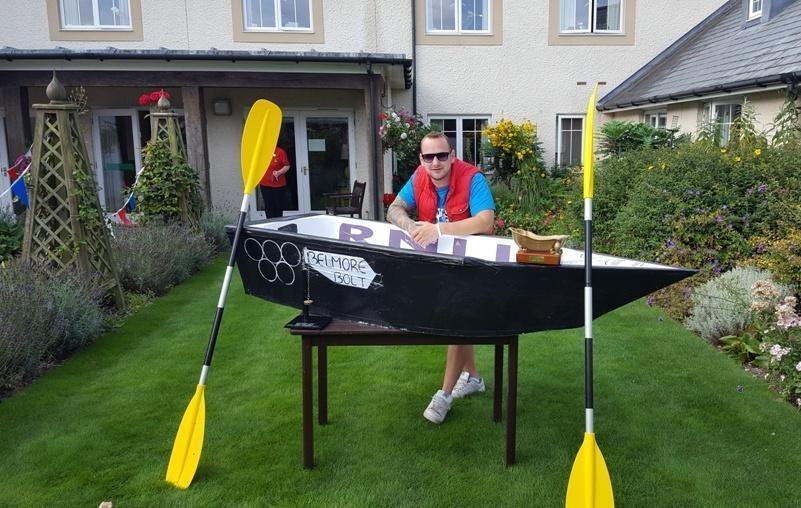 Bath made for colten care belmore lodge bath race 2018