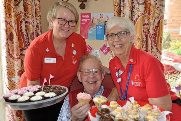 SWEET GESTURE - Residents at Colten Care's Linden House in Lymington produced a feast of cakes festooned with sprinkles and sweets for the Alzheimer's Society's Your Cupcake Day campaign