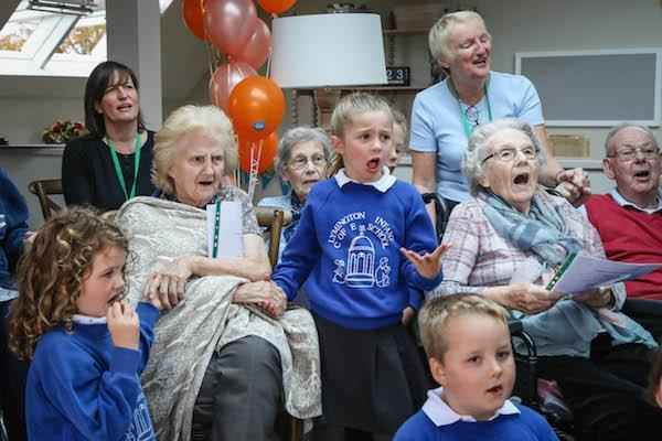 Lymington care home choir strikes a chord on BBC Music Day
