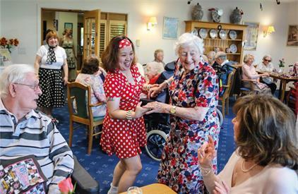A fun packed short term stay at a Colten Care home could be just the ticket this winter