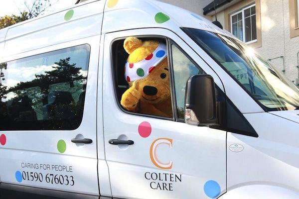 Colten Care Children in Need Extravaganza 2018