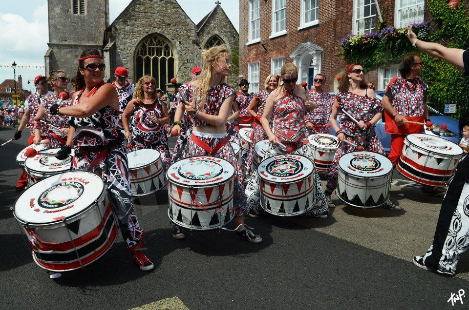 Lymington carnival band 2015