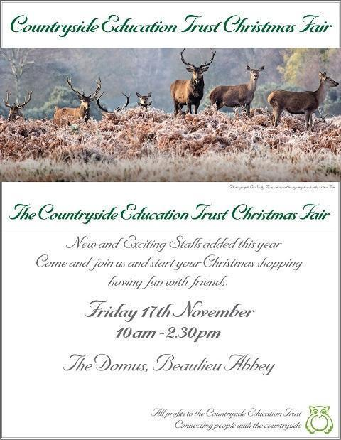 countryside education trust christmas fair 2017 web