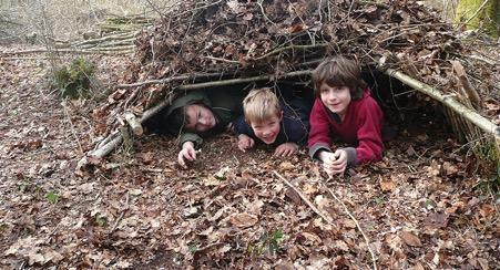 countryside education trust den making