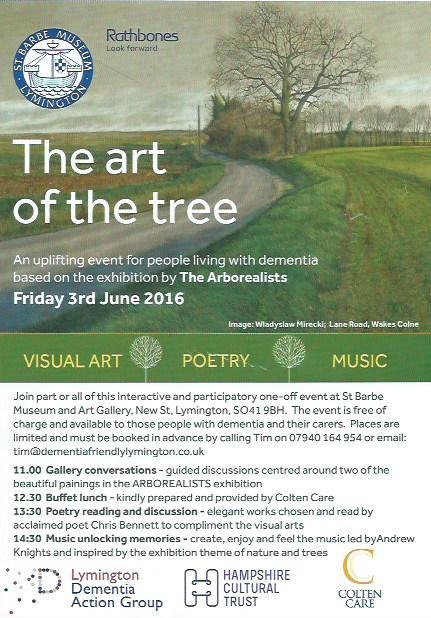 The Art of the Tree for People with Dementia