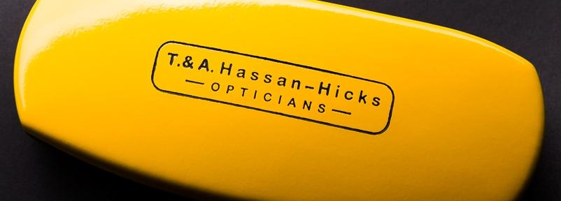 hassan hicks optician glasses case