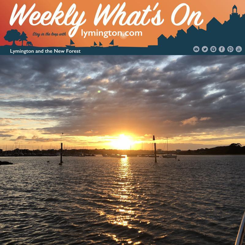 Weekly What's On in the New Forest from Lymington.com