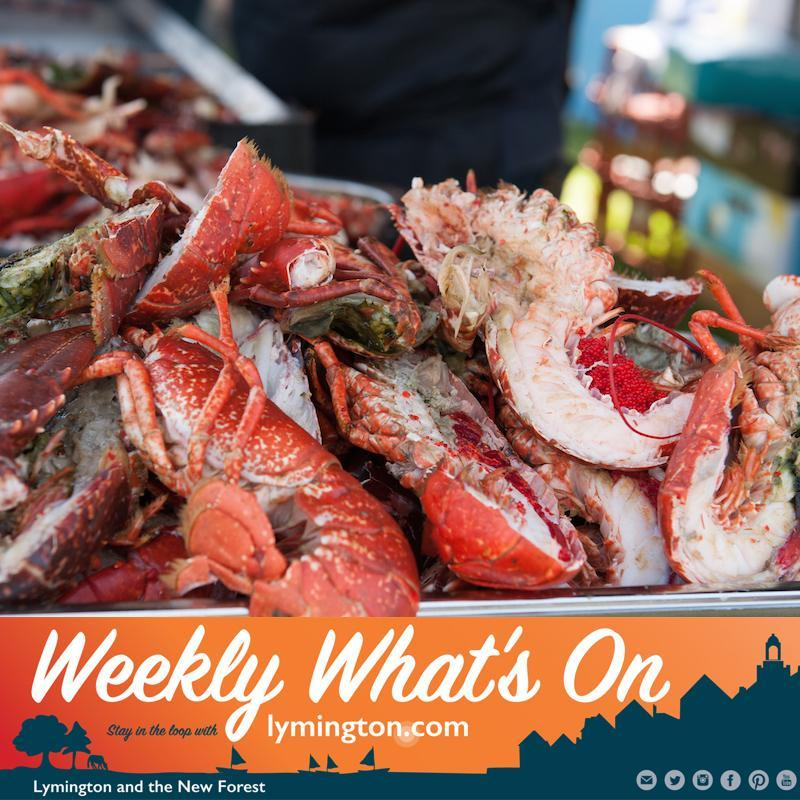 Weekly What's On from Lymington.com by Bartley Marketing Friday 9 August 2019