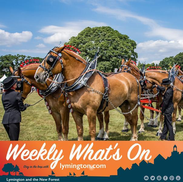 New Forest Show Weekly What's On from Lymington.com