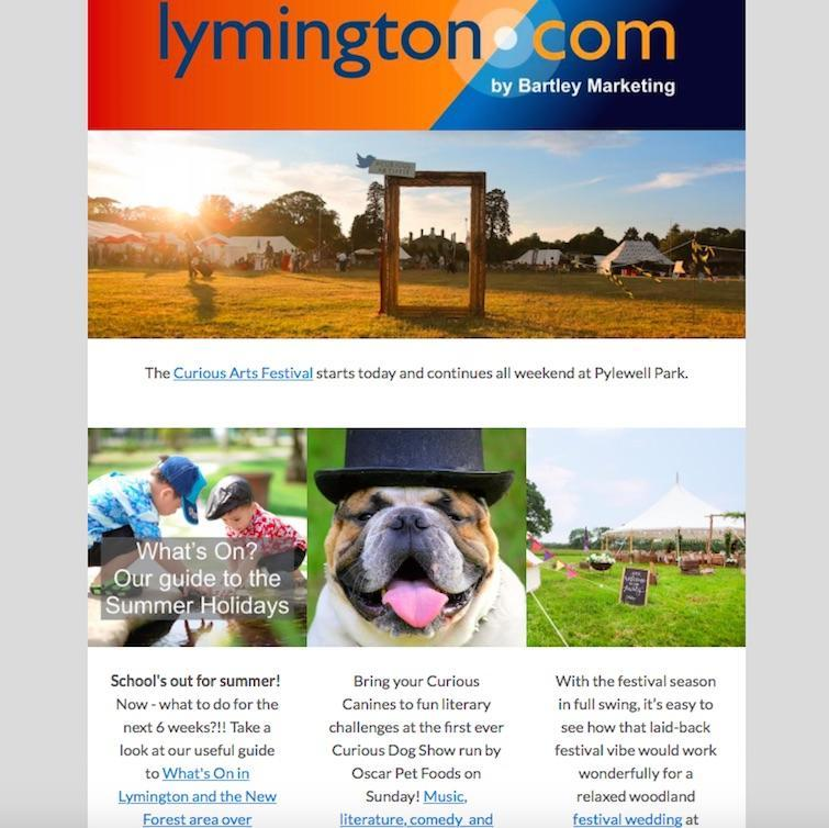 Lymington Weekly What's On Newsletter 20 July