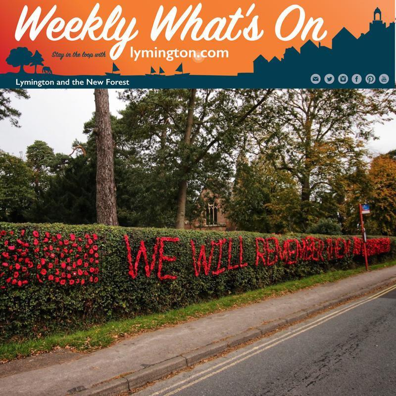 Pennington St Marks Church poppies 2019 - weekly what's on