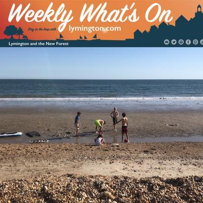 Summer Holidays at the beach - weekly what's on Lymington.com