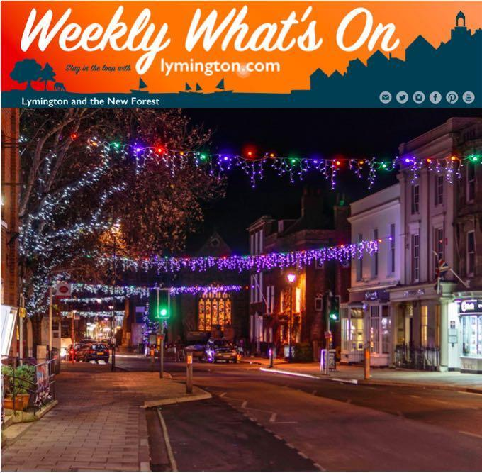 Weekly What's On 23 November 2018