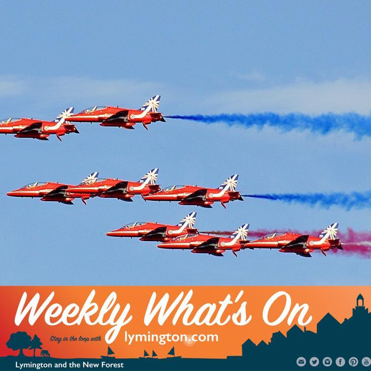 Weekly What's On Lymington and New Forest 30Aug2019