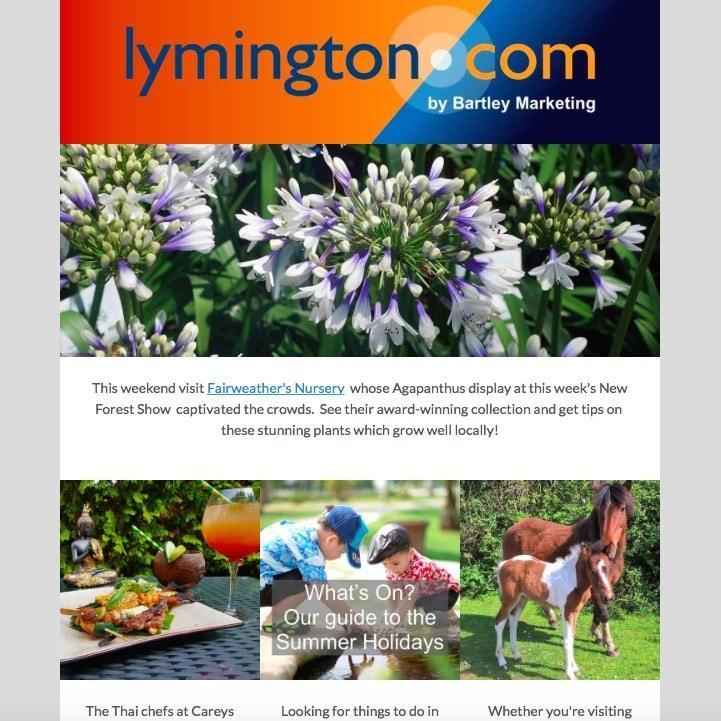 Weekly Whats On From Lymington.com 27 July 2018