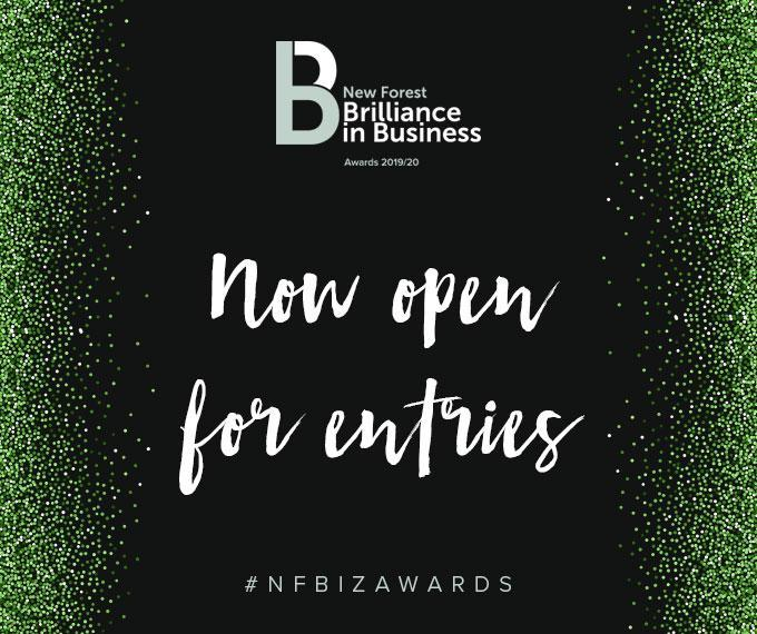 New Forest  brilliance in business 2019 - awards now open