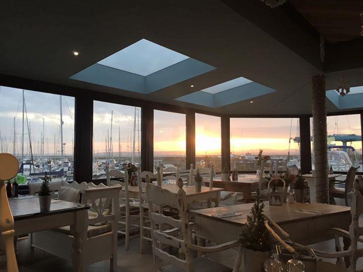 Haven Bar and Restaurant spectacular Lymington river views