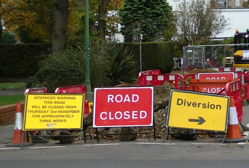 james dynan risk management diversion road closed what next