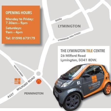 lymington tile centre advertorial map 2