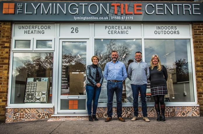 lymington tile centre showroom team