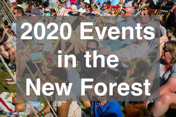 What's on in the New Forest in 2020