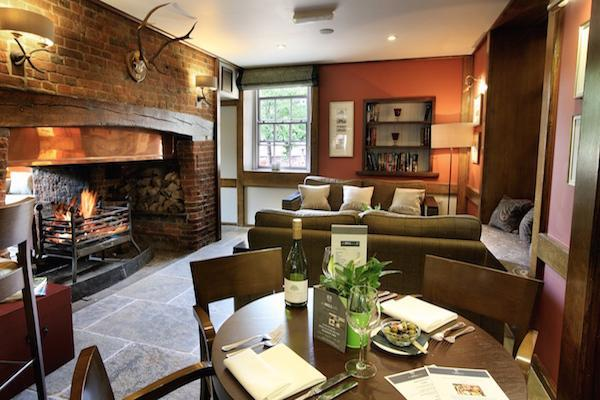bell inn bramshaw Bar Dining