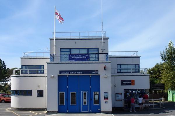 Lymington RNLI Station 600x400