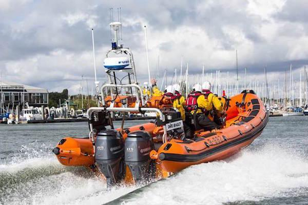Help Lymington's Lifeboat crew save lives at sea