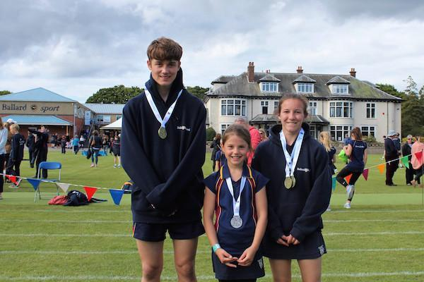 Ballard pupils win gold at regional and national ISA championships