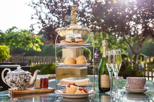 Afternoon Tea at the Balmer Lawn with Champagne