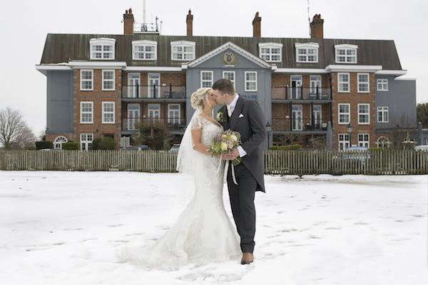 Ten finalists in the running to win a free winter wedding in the New Forest