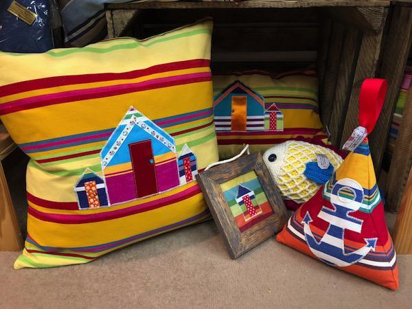 Handmade gifts from Beach huts n boats Lymington