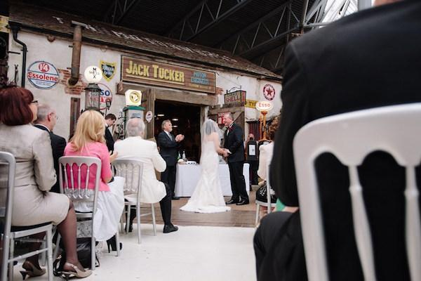 Beaulieu wedding at the National Motor Museum